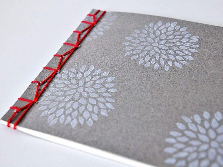 DIY-Anleitung: Notizbuch selber binden  via DaWanda.com
