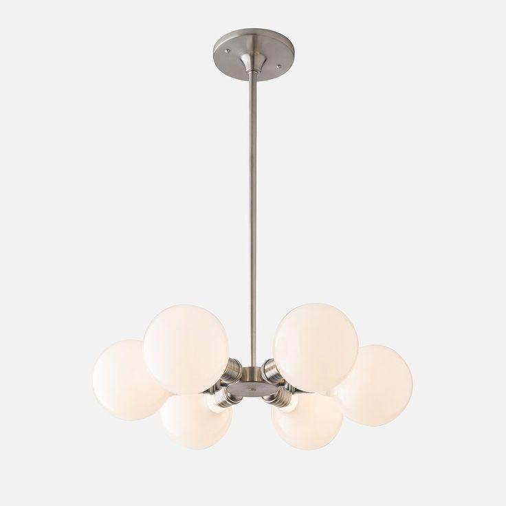 Satellite 6 chandelier