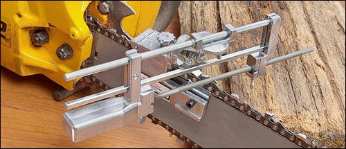 Deluxe Chain-Saw Sharpener - Woodworking