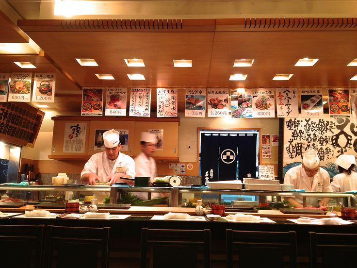 tokyo japan food sushi stores | Sushi Restaurants