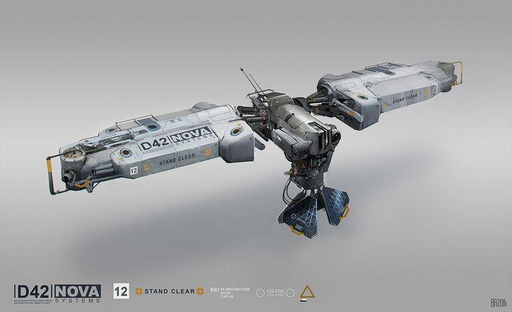 concept ships: Spaceship art by Ben Andrews