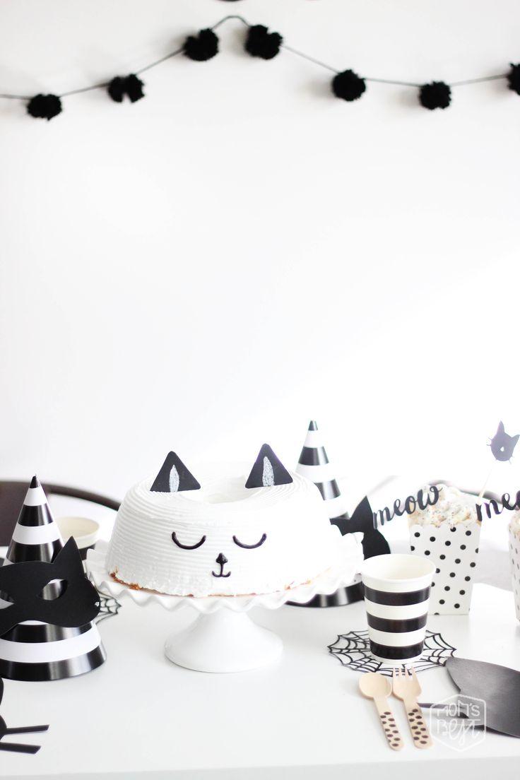 Mom's Best Network: Purrrrrfect Black CAT Halloween Party