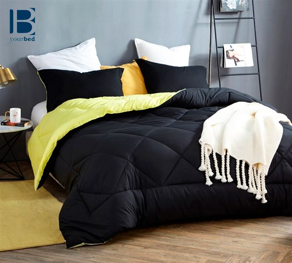 Add A Pop Of Sunshine To Your Bedding With The Oversized