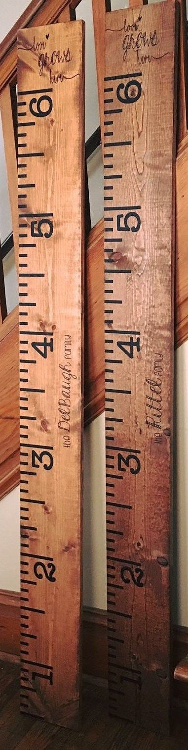 DIY Growth Chart Ruler Decal (Black)    The Adore Them Shop is brought to you in partnership with Life's Phases & The Cozy Cub