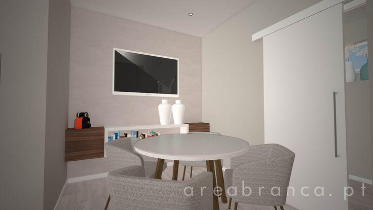 Sala de Reuniões | Meeting Room #arquitetura #areabranca #architecture #designinteriores #interiordesign