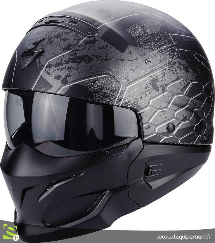 Casque jet moto et scooter Scorpion Exo-Combat