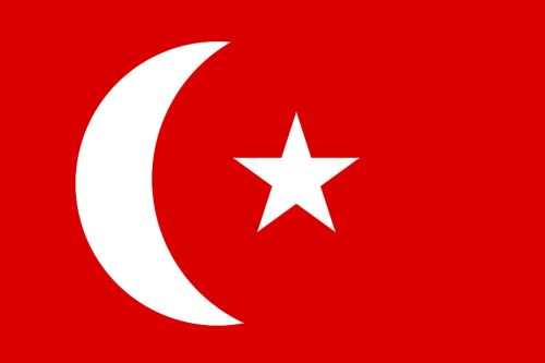 turkey 1914 flag - Google Search