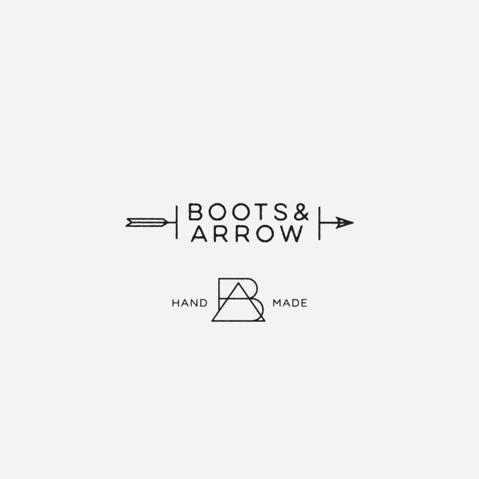 Boots & Arrow logo design in Portfolio