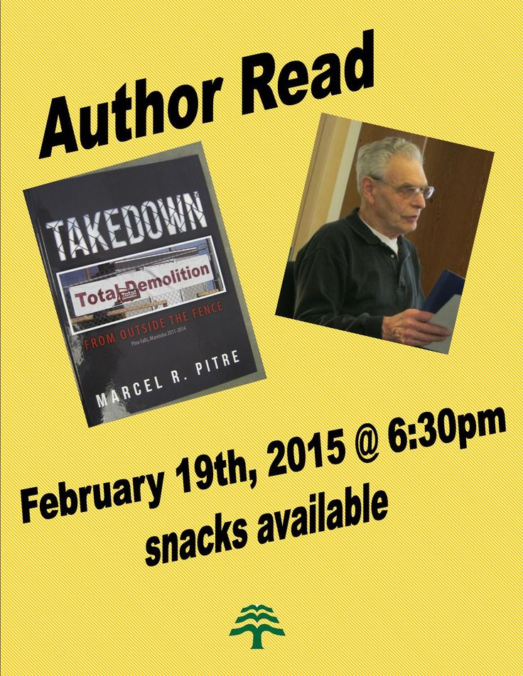 February 19th 2015 @ 6:30pm at Library Allard