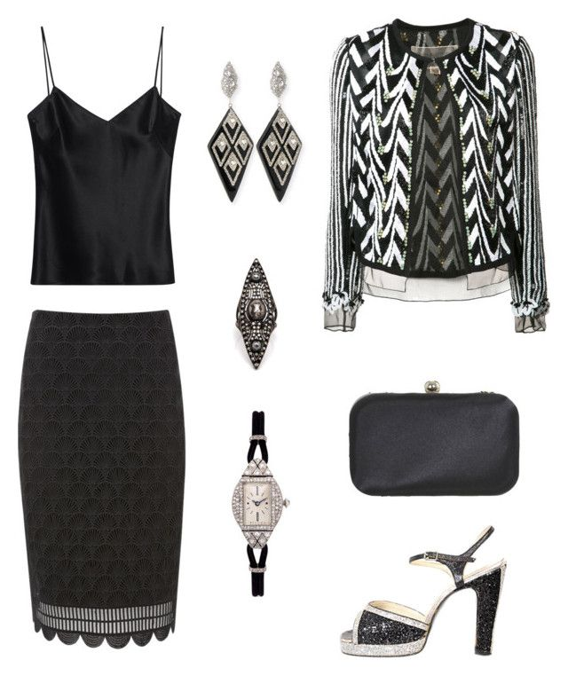 """""""473. Contest entry: New Year's Resolutions"""" by sollis ❤ liked on Polyvore featuring Alexis Bittar, Giambattista Valli, Terry de Havilland, Miss Selfridge, LC COLLECTION, Mint Velvet and Galvan"""
