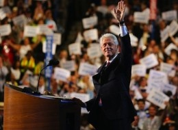 BILL KILLS ... Former President Bill Clinton, in his speech Wednesday night to the DNC, asked undecided voters to give President Barack Obama another chance.