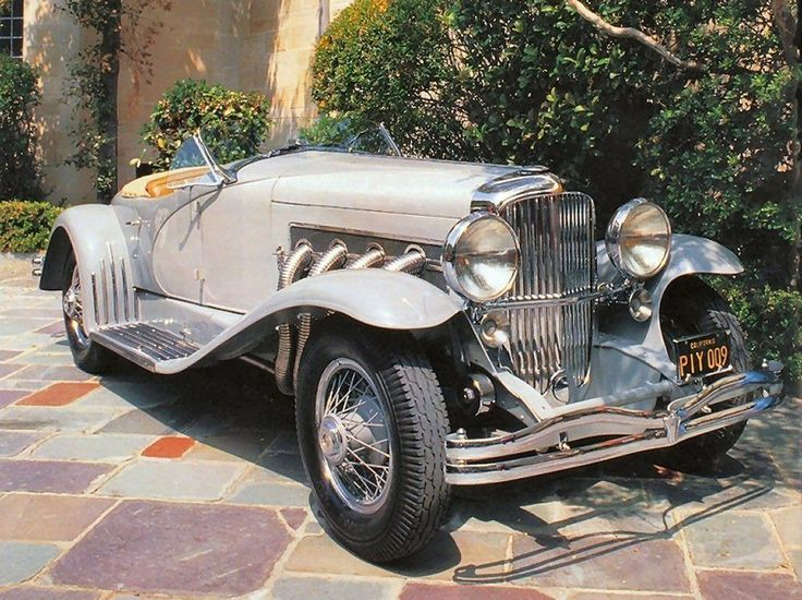 Cars 1935 Duesenberg Model SSJ Sports Roadster By Lagrande Beige Low Fvr