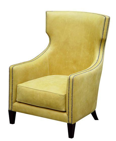 "Sienna Chair - Hand-carved Hardwood Frame  29.25""W x 33""D x 41.25""H"