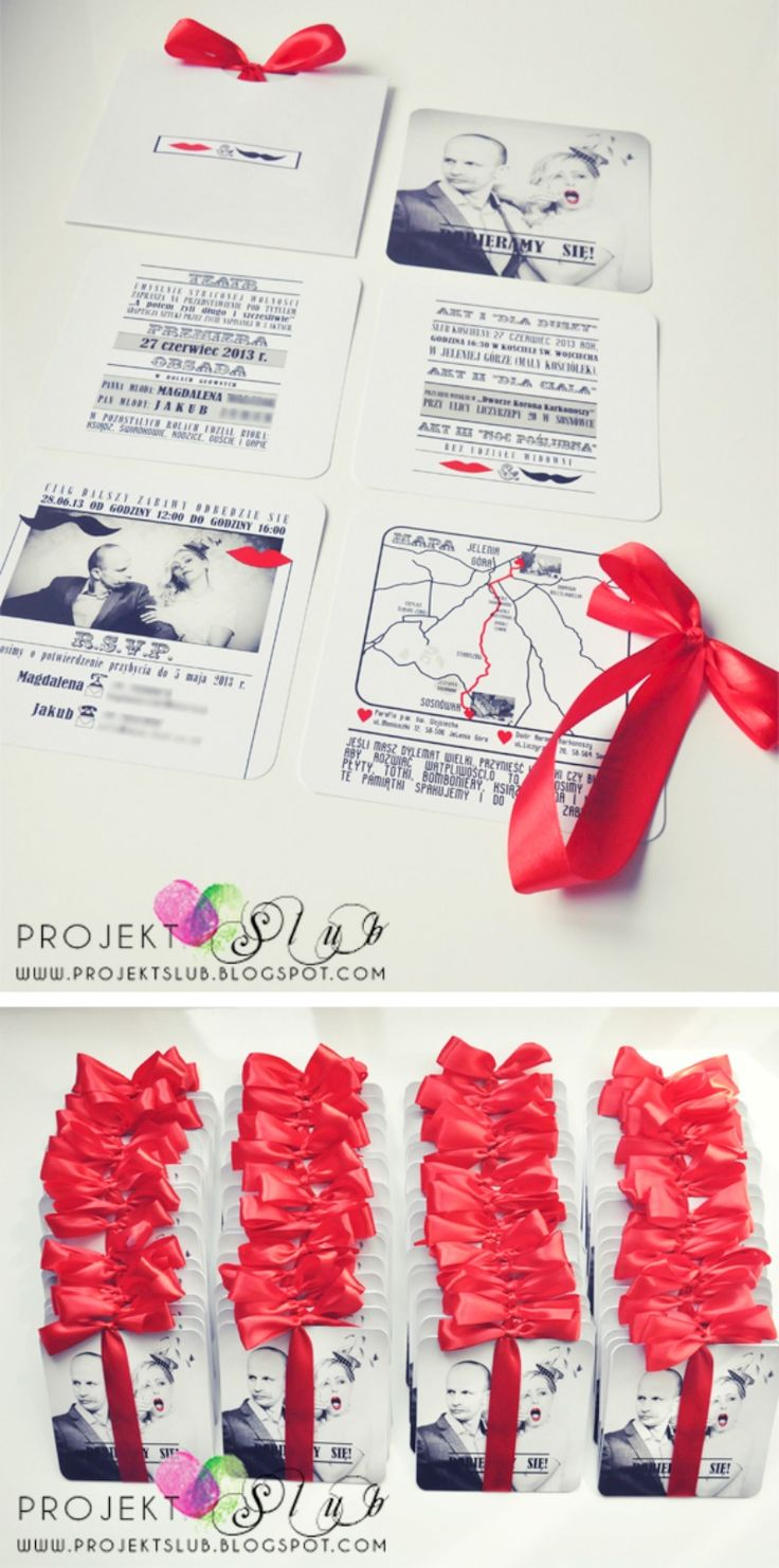 8 best Zaproszenia images on Pinterest | Wedding stationery, Bridal ...
