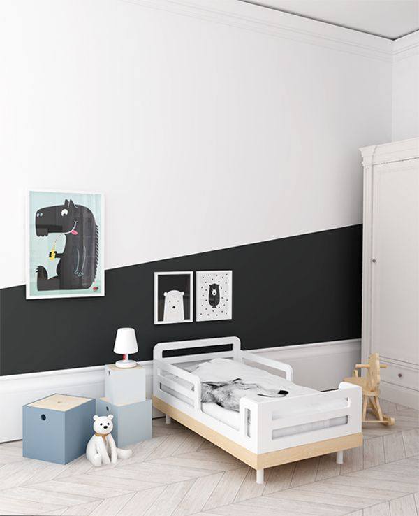 Black & Orange Kids' Room - Petit & Small