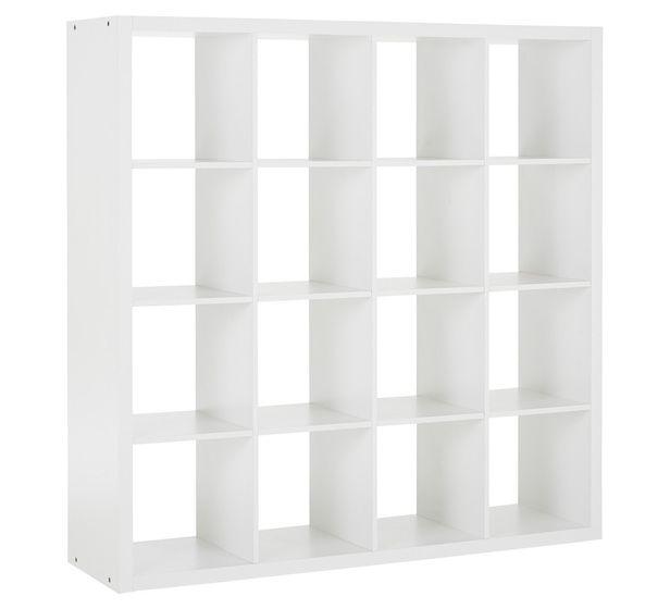 Matrix 16 Shelf Cube  Fantastic Furniture $149