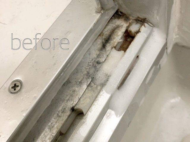 大掃除 お風呂のドアを丸洗い 頑固汚れを綺麗にしよう 掃除