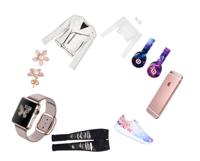 """""""Dream style"""" by xxninapappalardoxx on Polyvore featuring Marc Jacobs, Glamorous, NIKE and Beats by Dr. Dre"""
