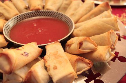 Spring rolls με λαχανικά και γλυκόξινη sauce.Μία συνταγή εμπνευσμένη από την ασιατική κουζίνα.