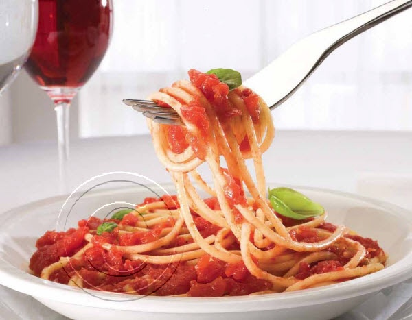 2014 Recipe Promotional Calendars - May 2014 - Spaghetti Pomodori (Serves 4)  1 lb [500 g] spaghetti  ¾ lb [350 g] plum tomatoes  2 tbsp [30 mL] olive oil  1 onion, finely chopped  2 cloves garlic, minced  ½ cup [125 mL] red wine  2 tbsp [30 mL] tomato paste  1 tbsp [15mL] chopped fresh basil    Cook spaghetti as directed on package. Meanwhile in a covered saucepan cook onion gently in olive oil until completely softened. Add ... visit www.promocalendarsdirect.com/recipes for complete…