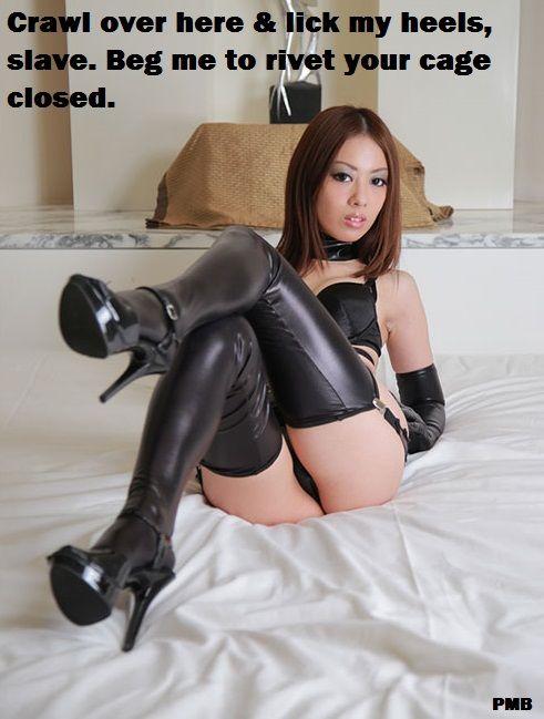 2 latex heels mistress strapon slave hardcore femdom pegging 2
