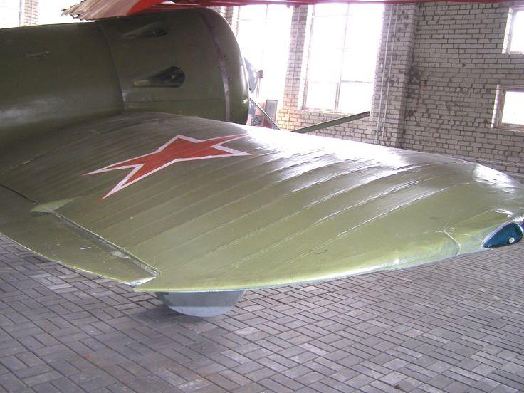 Polikarpov I-16, Valery Chkalov museum, Chkalovsk, Russia