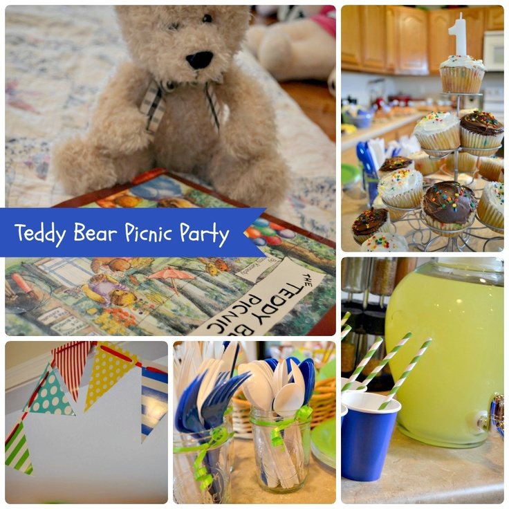 306 best Teddy Bear Picnic Ideas images on Pinterest | Parties kids ...