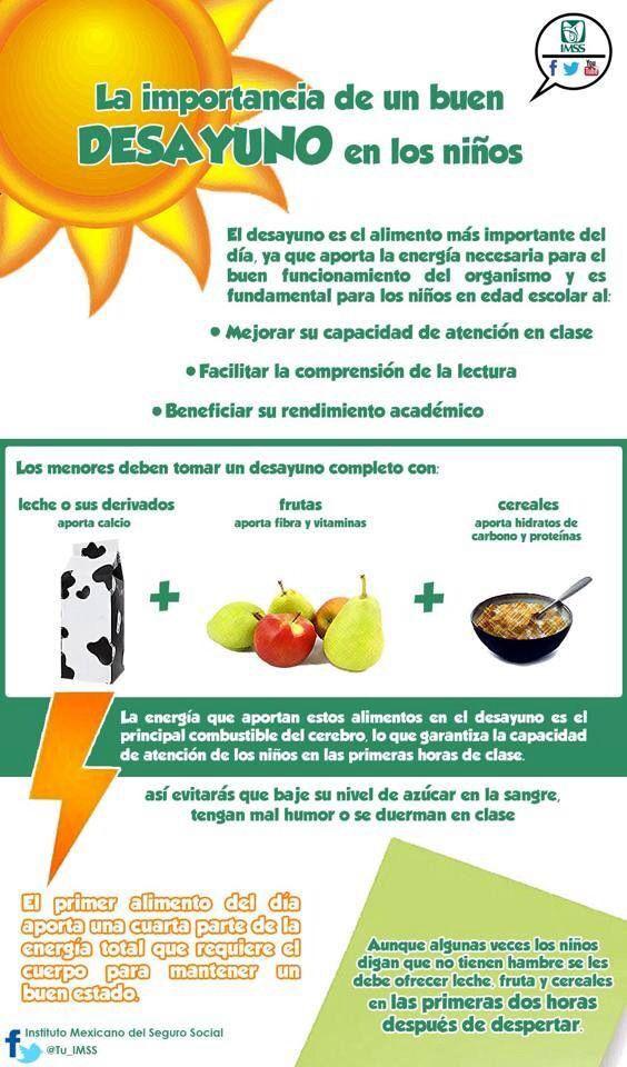 ¡A #desayunar!  Todo lo que necesitan para  empezar el día con #energía para ir al #cole, saltar, bailar, cantar…