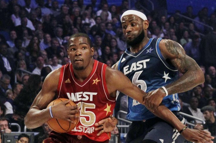 Agonismo puro tra Kevin Durant & Lebron James. All Star Game 2013