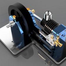 Webster Four Stroke Engine | Autodesk Fusion 360
