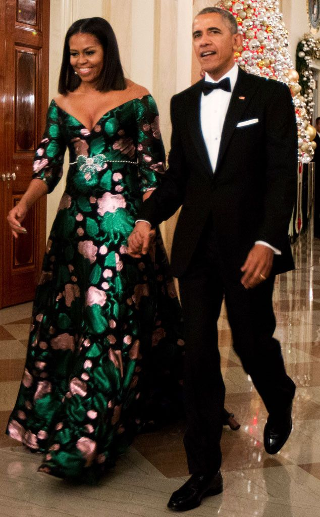 First Lady Michelle Obama has sported stunning gowns at eight of the annual ceremony