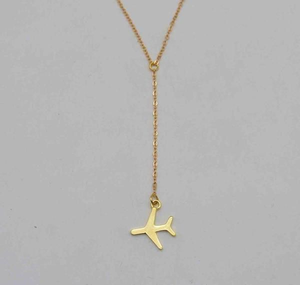 Adorable Airplane Necklace