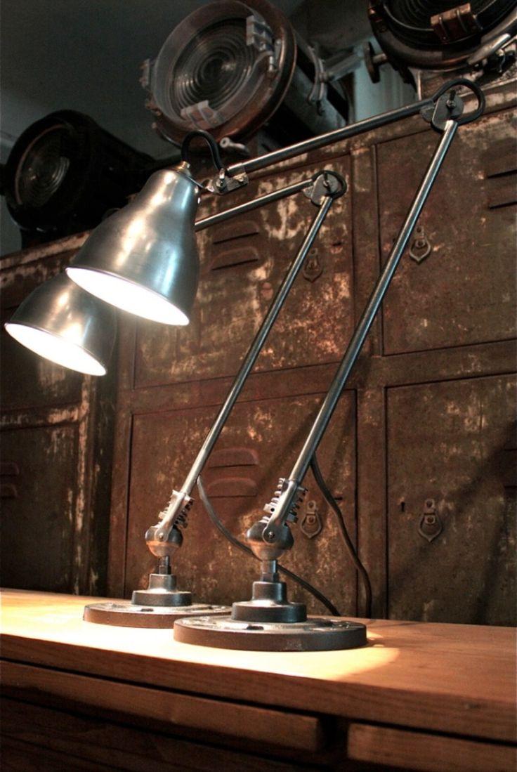 lampes industrielles (vendu)