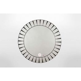Beautiful round multi bevel edge mirror