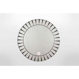 Beautiful round multi bevel edge mirror