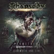Luca Turilli's Rhapsody: Prometheus: The Dolby Atmos Experience, 2 CDs