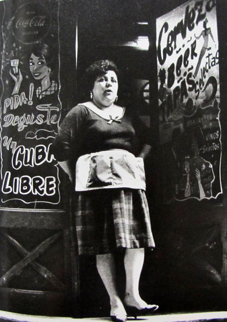 Barri del Raval de Barcelona entre els anys 50 i 60 (Joan Colom)