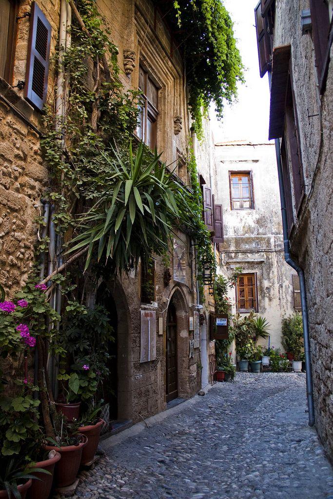 In der Altstadt von Rhodos...