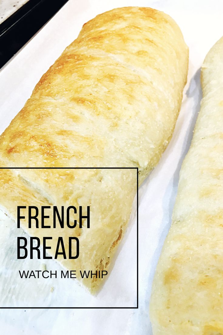 Easy and delicious French Bread in only an hour and 15 minutes!