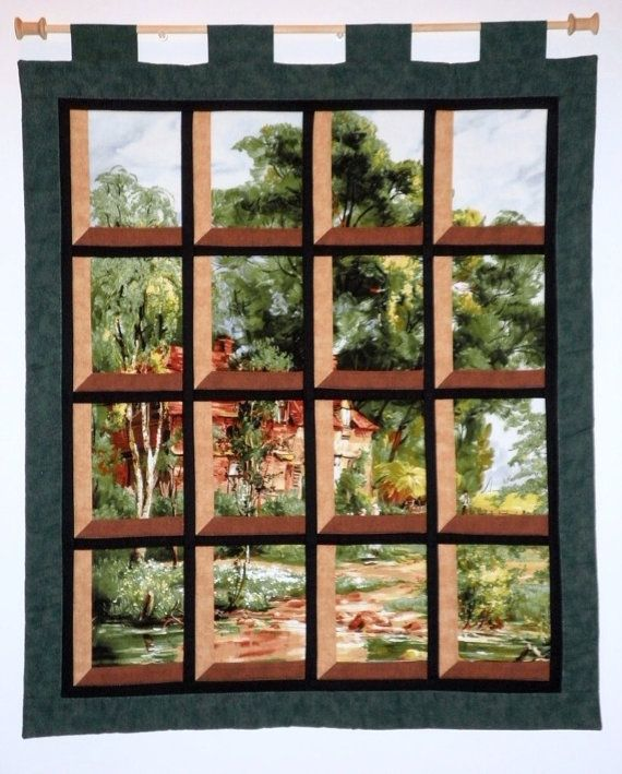 130 best images about attic window quilts on pinterest for Red door design quilts