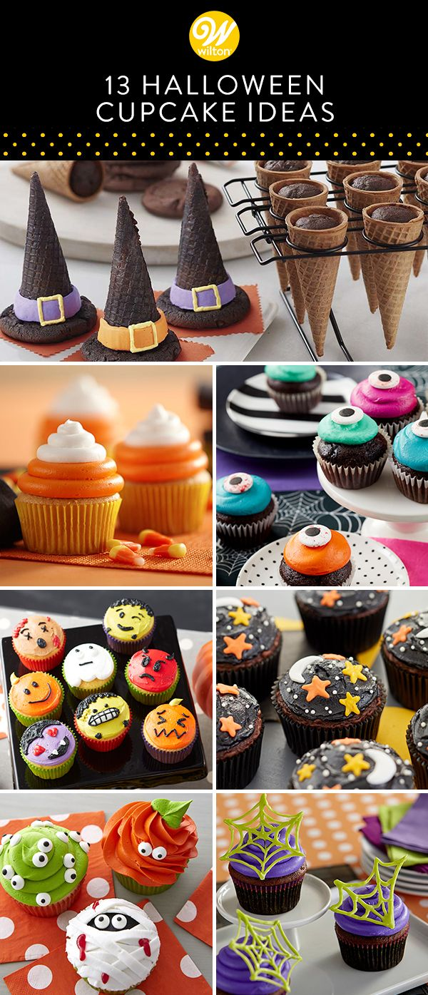 13 Halloween Cupcake Ideas