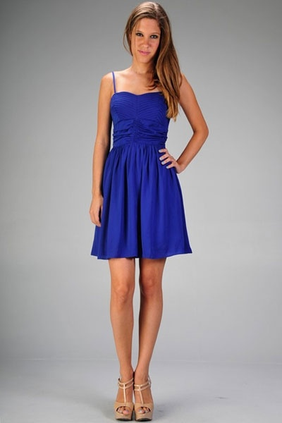 Royal Blue Semi Formal Dresses