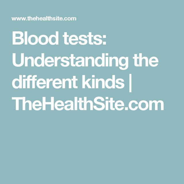 Blood tests: Understanding the different kinds | TheHealthSite.com