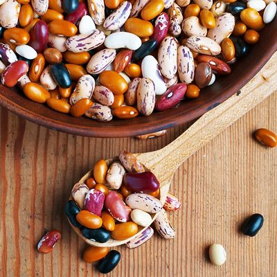 8 Foods That Help Lower Cholesterol--Studies indicate that consumption of as little as 1/2 cup of cooked beans per day can lower LDL cholesterol by an average of 8 percent. Pintos and garbanzo beans seem to have the best effect.