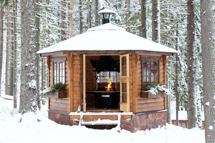 Gazebo anche In Inverno | Idee Tende da Sole