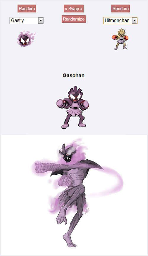Gaschan | 43 Pokemon Mash-Ups That Are Better Than The Real Thing