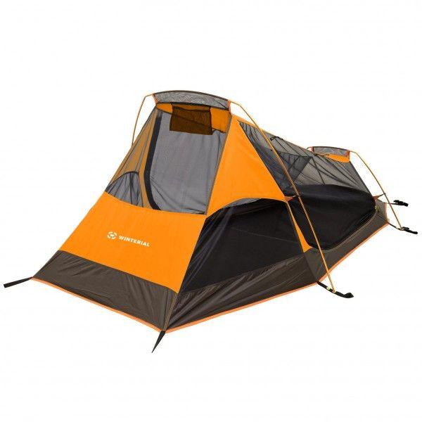 Cover: Winterial Single person, three season tent, gray/orange. (3lbs. 9 oz.)