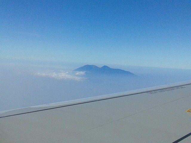 Peak of mount gede pangrango west java - photo by aba