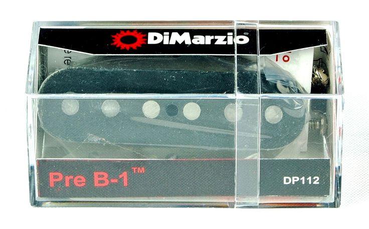 DiMarzio DP112 Pre B-1 Telecaster Bridge Single Coil Pickup - Black