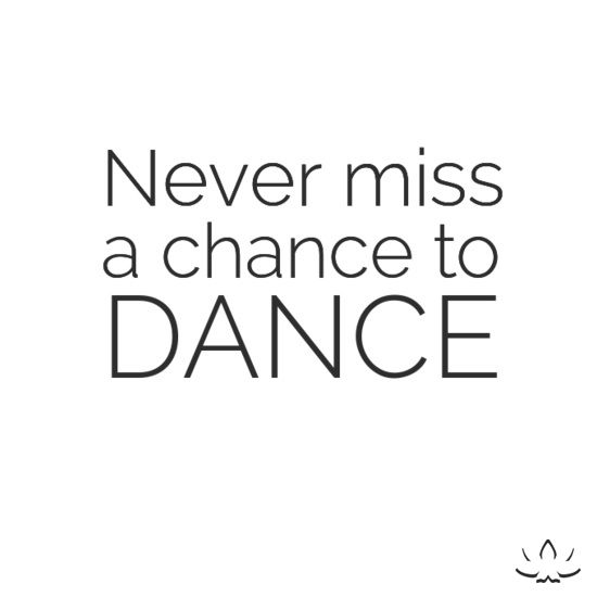 Never Miss A Chance to Dance! Poms girls--This should be our saying on the backs of our little kid shirts!